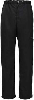 A A   Artica Arbox Tech Pants W/ Elastic Drawstring Details
