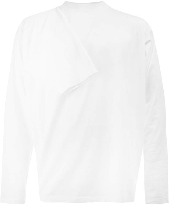 Y/Project Y / Project sleeve-embellished sweatshirt