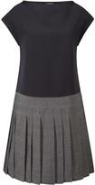 Brigit Dress Black & Grey