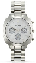 kate spade new york Stainless Brooklyn Chronograph, 38mm