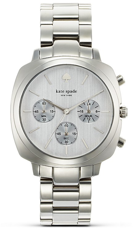Kate Spade Stainless Brooklyn Chronograph, 38mm