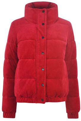 DKNY Sport Velour Padded Coat