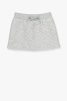 Country Road Quilted Sweat Skirt