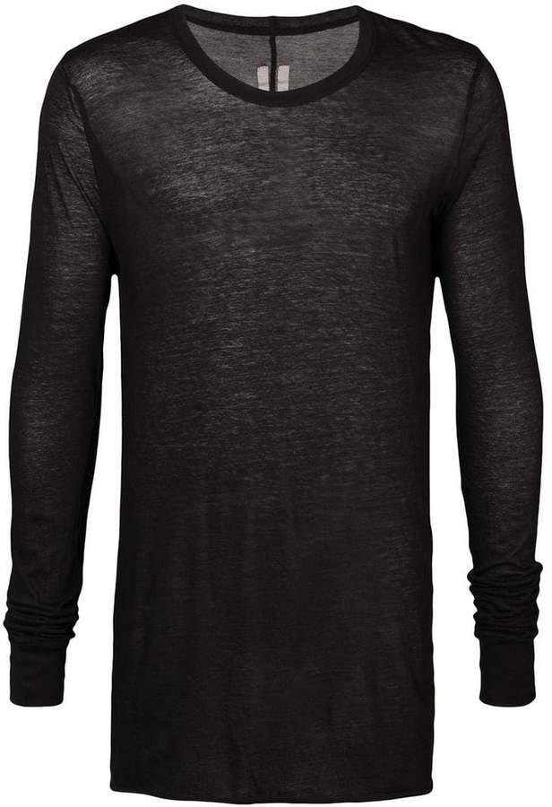 Rick Owens sheer crew T-shirt