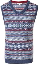 John Lewis Boys' Heirloom Fair Isle Knit Tank Top, Multi