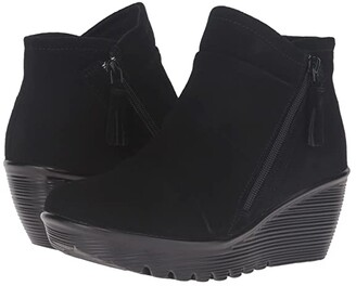 Skechers Parallel (Black) Women's Zip Boots