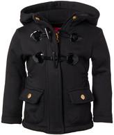Pink Platinum Girls' Fleece Jackets BLACK - Black Toggle Lightweight Fleece Jacket - Infant, Toddler & Girls