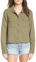 BP Women's Crop Woven Shirt