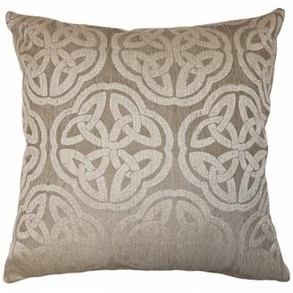 "Square Feathers Bruma Medallion Pillow Size: 12"" x 24"""