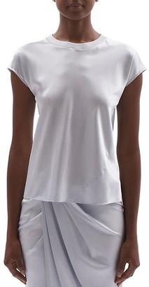 Helmut Lang Silk Satin T-Shirt