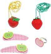 Pop Cutie Fruit Ring, Necklaces & Hairclips Set