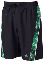 adidas Men's Escape Splice Microfiber Volley Swim Trunks