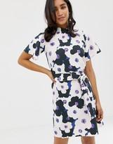Closet London Closet Gathered Top A-line Dress