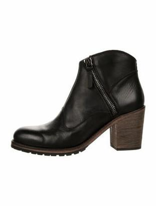 Belstaff Radcot Leather Boots Black