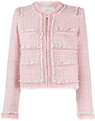 Giambattista Valli Pink Tweed Jacket