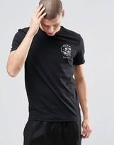 Brixton T-shirt With Skull Print