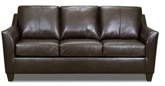 """Red Barrel Studio Thy 83"""" Flared Arm Sofa Upholstery Color: Soft Touch Bark"""