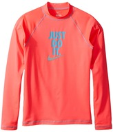 Nike Just Do It Long Sleeve Hydroguard Top Girl's Swimwear