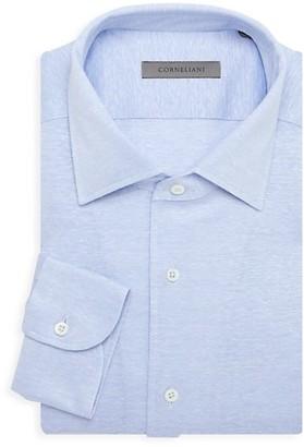 Corneliani Jersey Knit Dress Shirt