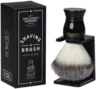 Gentlemen'sHardware Gentlemen's Hardware - Shaving Brush & Stand Set - Black