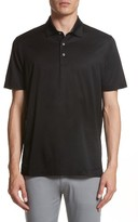 Canali Men's Mercerized Cotton Polo