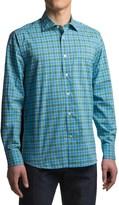 Robert Talbott Crespi III Trim Fit Sport Shirt - Cotton, Mitered Cuff, Long Sleeve (For Men)