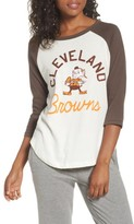 Junk Food Clothing Women's Nfl Cleveland Browns Raglan Tee