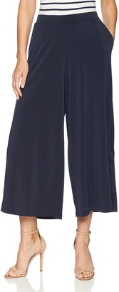 Ellen Tracy Women's Seamed Culotte