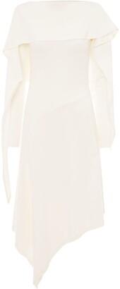 J.W.Anderson Draped Asymmetric Dress