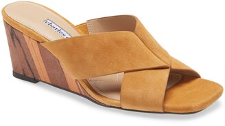 Charles David Testify Wedge Slide Sandal