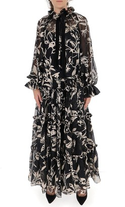 Zimmermann Ladybeetle Swing Long Dress