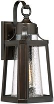Quoizel Lighthouse 17-Inch 1-Light Outdoor Wall Lantern with CFL Bulb in Palladian Bronze