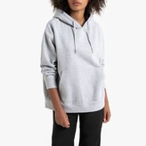 La Redoute Collections Plain Cotton Hoodie with Pockets