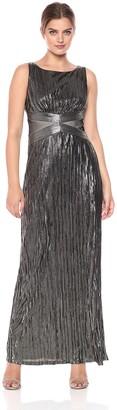 Sangria Women's Metallic Gown