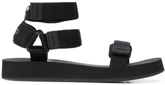 Kenzo Cross Logo Chunky Sandals