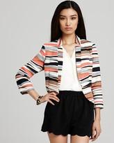 Jacket - Printed Textured