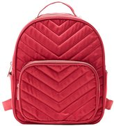 Charlotte Russe Quilted Satin Backpack