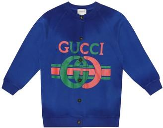 Gucci Kids Cotton bomber jacket