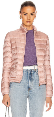 Moncler Lans Giubbotto Jacket in Blush | FWRD
