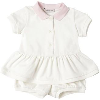 Moncler Cotton Pique Polo & Shorts