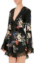 Nicholas Cecile Floral Deep V Romper