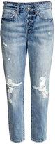H&M Vintage High Cropped Jeans - Denim blue - Ladies