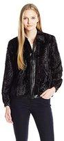 Alfred Dunner Women's Faux Fur Jacket
