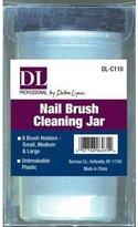 Debra Lynn Professional Nail Brush Cleaning Jar
