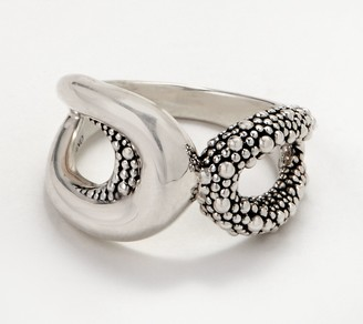 Michael Dawkins Sterling Silver Starry Night Open Ring