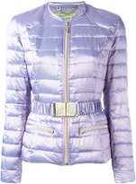 Versace padded jacket - women - Polyester/Polyimide/Polyamide/Feather Down - 40