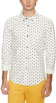 Band Of Outsiders Men's Fighter Oxford Sporthshirt