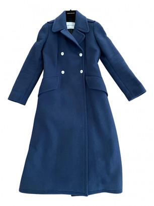 Sonia Rykiel Blue Wool Coats