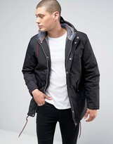 Minimum Shelton Hooded Parka In Black