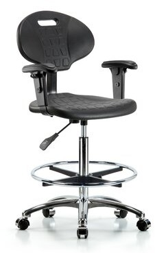 Pippa Symple Stuff Drafting Chair Symple Stuff Casters/Glides: Casters